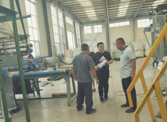 沂水县夏蔚镇开展重点企业隐患排查活动